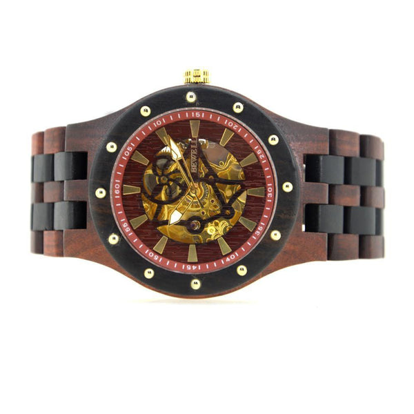 Men's Blood Sandalwood Automatic Watch - YesNo
