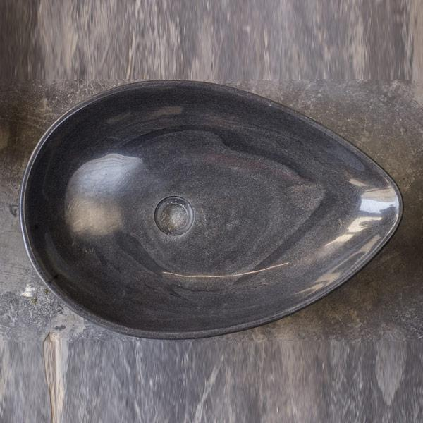 Oval Shaped Marble Wash Basin