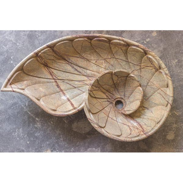 Peacock Shaped Marble Wash Basin