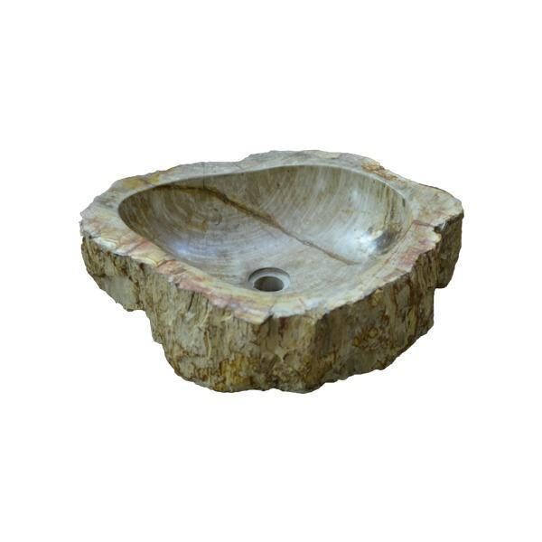 Petrified Wood Natural Stone Wash Basin