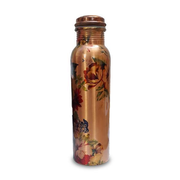 Printed Copper Bottles - Set of 4 - YesNo
