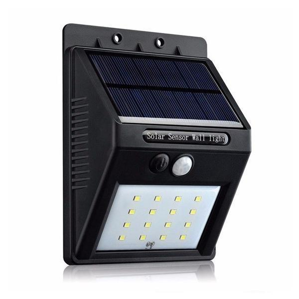 Solar Sensor Wall Light - Set of 2 - YesNo