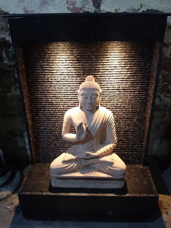 Stone Buddha Fountain - YesNo