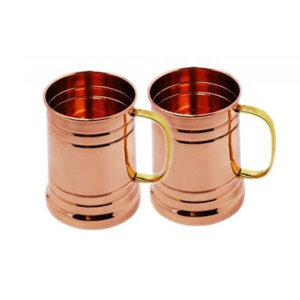 Tankard Mule Copper Mugs - Set of 2