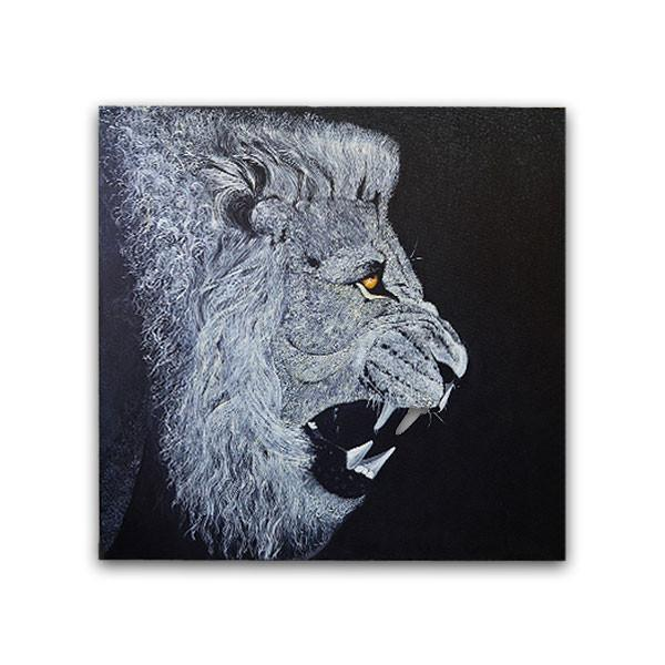 The Lion Painting