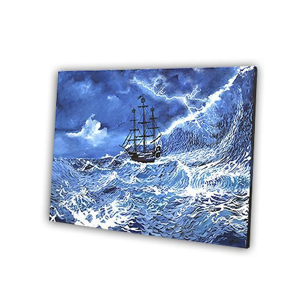 The Sea Storm Painting - YesNo
