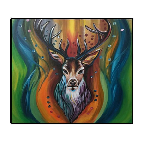 The Stag Painting