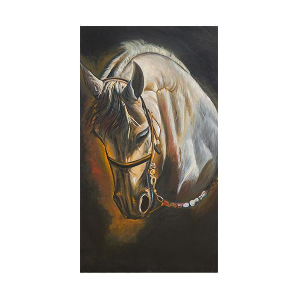 The Stallion Painting