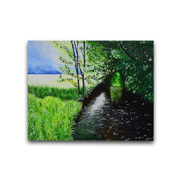 The Stream Painting