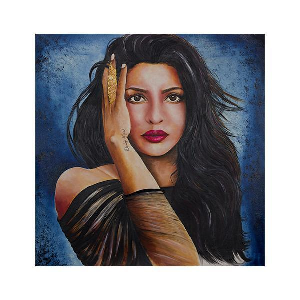 The Superstar Priyanka Chopra Painting