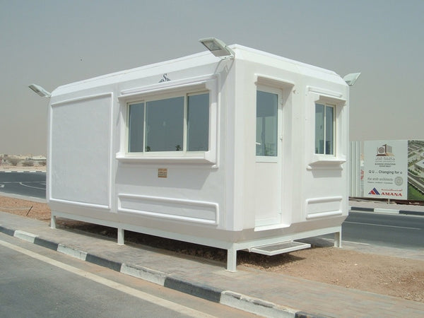 A secure and robust construction site office