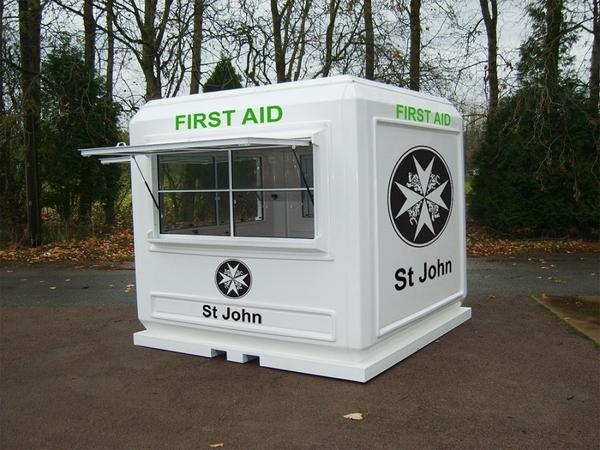 First Aid Event Kiosk for the St John's Ambulance Service