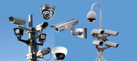 security booths and cctv cameras