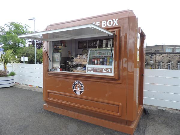 Coffee Catering Kiosk at Kirkcaldy Railway Station