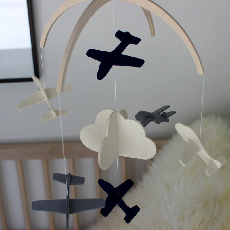airplane nursery decor