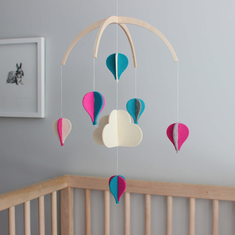 Baby Girl Crib Mobile - Unique Baby Mobile
