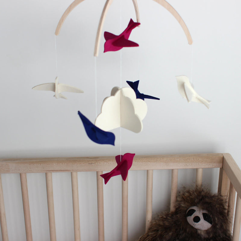 Modern Baby Crib Mobile - Mobile for Baby Nursery Decor