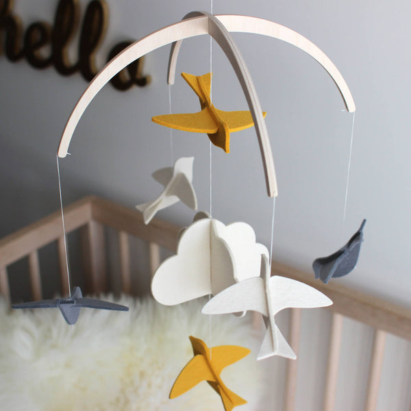 Modern Nursery Mobile - New Baby Mobile