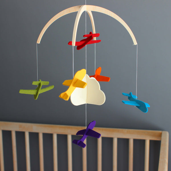 Baby Mobile for Nursery Decor - Baby Crib Mobile