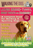 Grain Free LARGE BREED Turkey, Sweet Potato and Cranberry