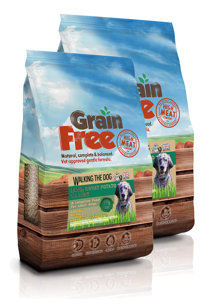 Grain Free Lamb, Sweet Potato and Mint Dog Food