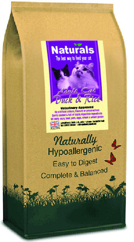 Naturals Duck & Rice Cat Food