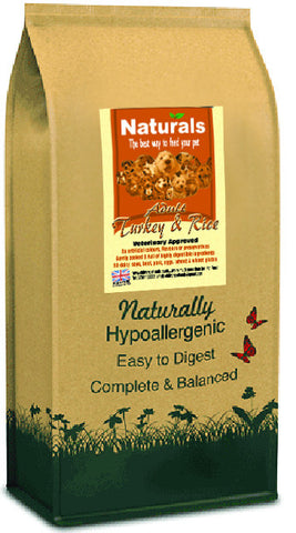 Naturals Turkey & Rice Dog Food