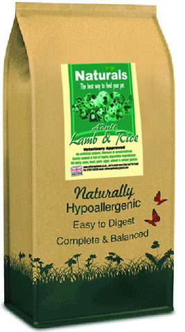 Naturals Lamb & Rice Dog Food
