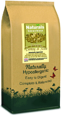 Naturals Turkey and Rice Puppy Food