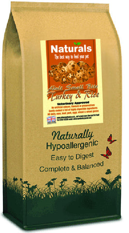 Naturals Turkey & Rice Small Bite Dog Food