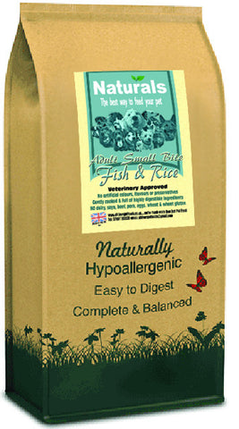 Naturals Fish & Rice Small Bite Dog Food