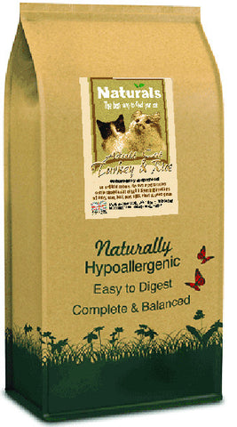 Naturals Turkey & Rice Cat Food
