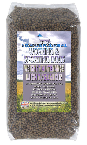 Super Premium Working Dog Senior/Light Dog Food 15kg
