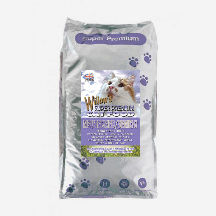 Super Premium Senior/Neuterred Cat Food