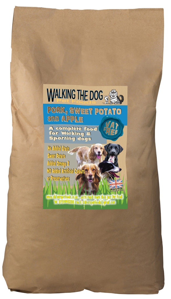 Working Dog Grain Free Pork Adult Dog Food 15kg