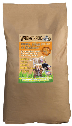 Working Dog Grain Free Turkey Adult Dog Food 15kg