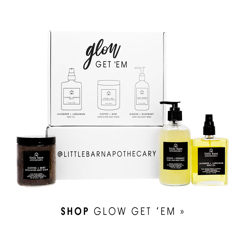 Little Barn Apothecary Glow Get 'Em Holiday Kit Body Care Atlanta Natural Skin Care