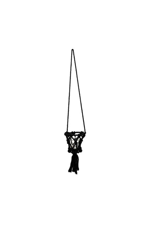 Black Mini Hanging Planter