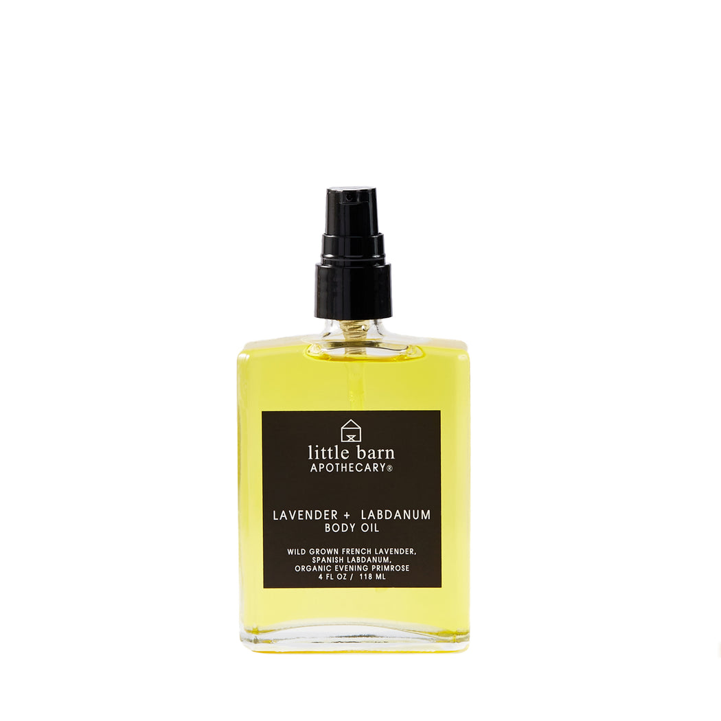 Lavender + Labdanum Body Oil