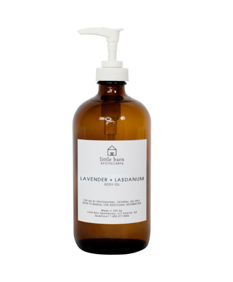 PRO USE Lavender + Labdanum Body Oil 16oz