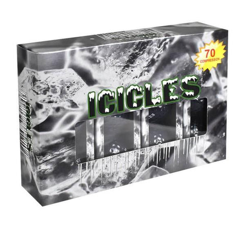 Icicle Golf Balls - Black
