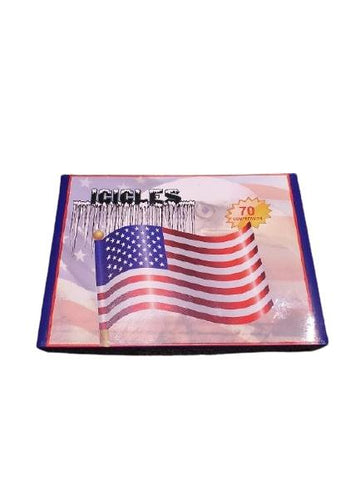 Icicle Golf Balls - USA Flag