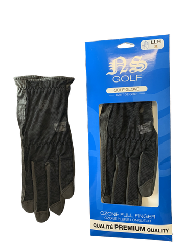 NS Ozone Full Finger Glove Black