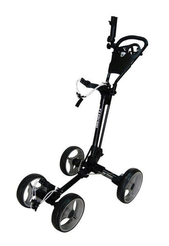 Qwik Fold 4 Wheel Cart Black/Charcoal