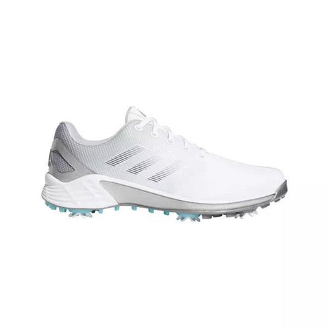 ADIDAS Men's ZG 21 Spiked Golf Shoe - White