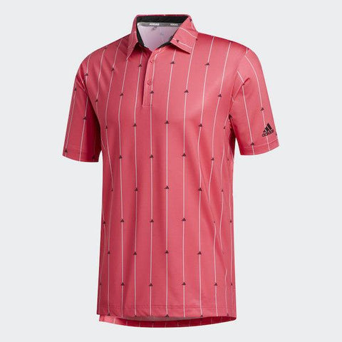 ULTIMATE365 POLO SHIRT Power Pink / Black / Grey Two