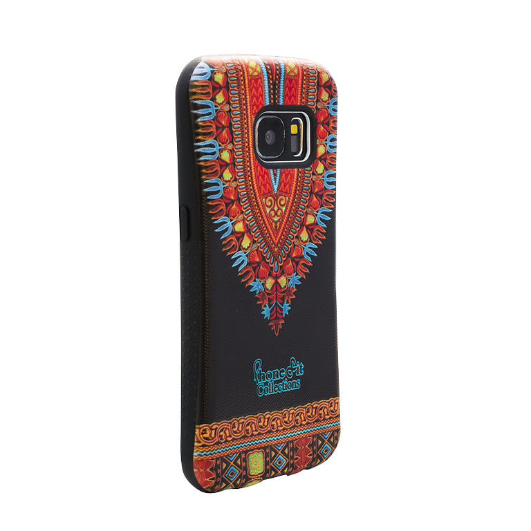 Black Dashiki Samsung Galaxy 7 case