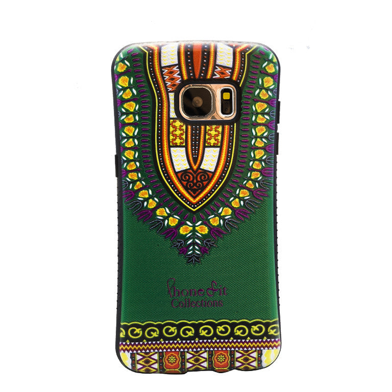Green Dashiki  Samsung Galaxy 7 edge Case - PRE ORDER TODAY