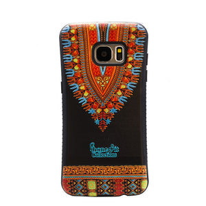 Black Dashiki Samsung Galaxy 7 Edge case