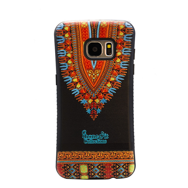Black Dashiki Samsung Galaxy 7 Edge case (1)